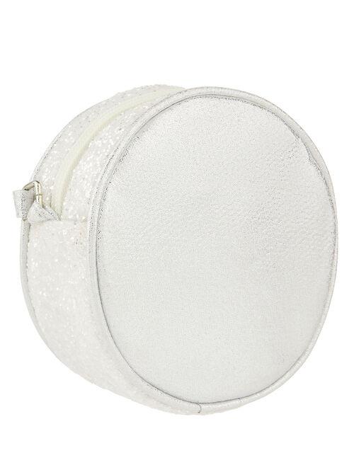 Glitter Circle Cross-Body Bag, , large