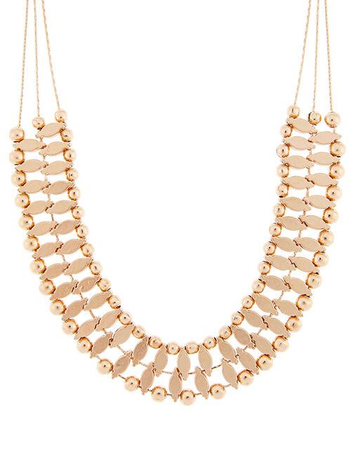 Sara Beaded Collar Necklace, , large
