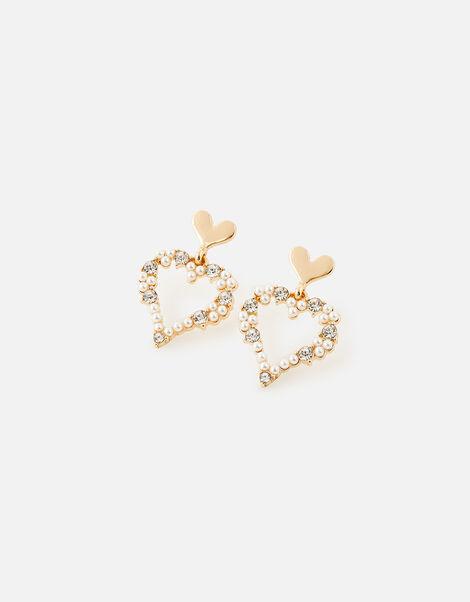 New Decadence Heart Drop Earrings, , large