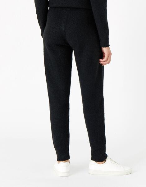Lounge Knit Joggers Black, Black (BLACK), large