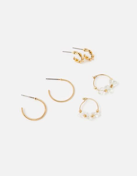 Meadow Hoop Earring Set, , large