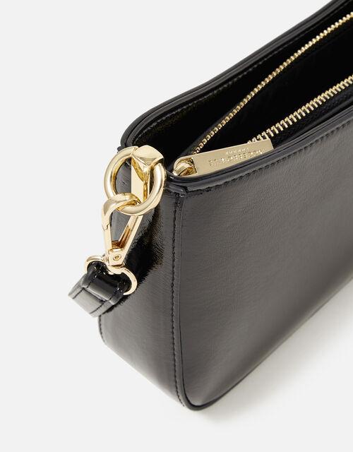 Roxanne Shoulder Bag, Black (BLACK), large