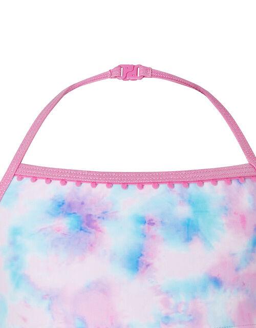 Tie Dye Bikini Set, Pink (PINK), large