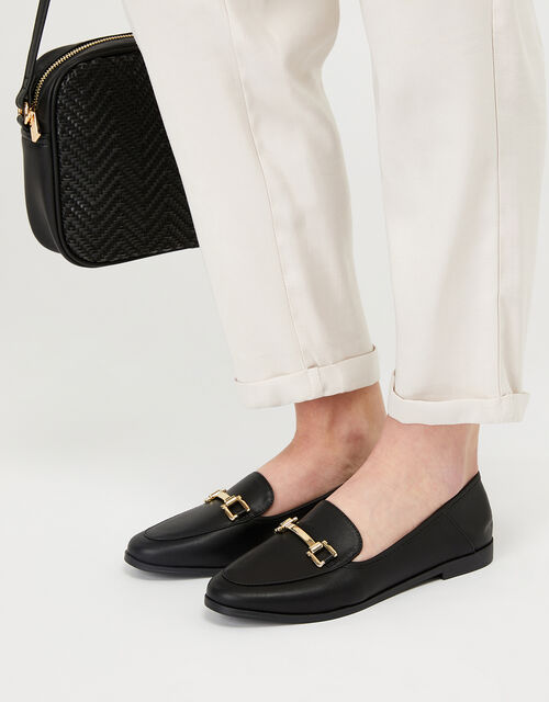 Classic Loafers, Black (BLACK), large