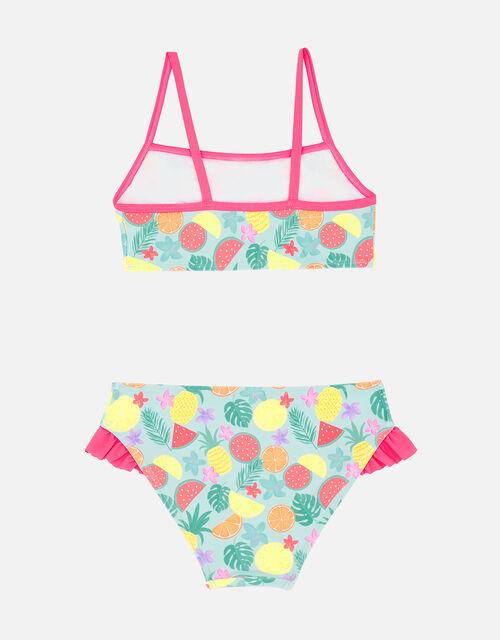 Girls Fruit Print Bikini Set, Multi (BRIGHTS-MULTI), large