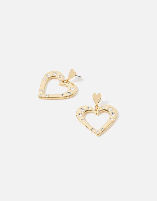 Feel Good Heart Earrings, , large