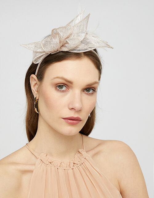 Olivia Petal and Loop Fascinator Headband, , large