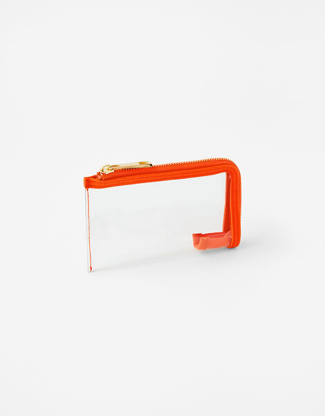 Small Face Covering Pouch Bag Orange, Orange (ORANGE), large