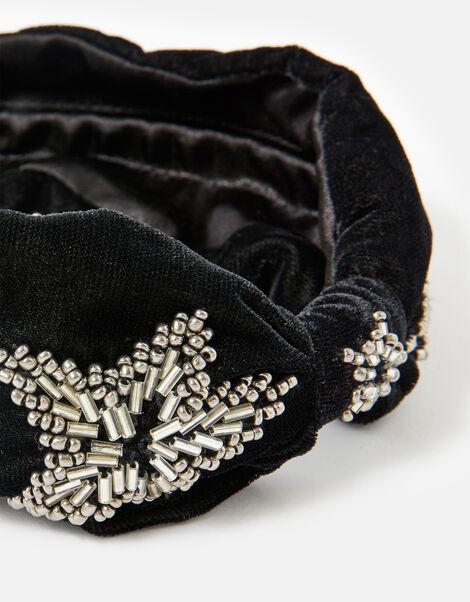Star Embroidered Headband , , large