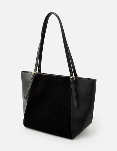 Leonie Tote Bag Black, Black (BLACK), large
