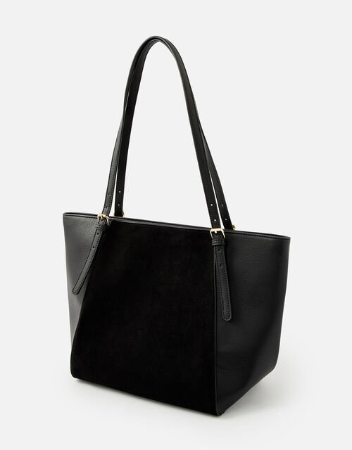 Leonie Tote Bag, Black (BLACK), large