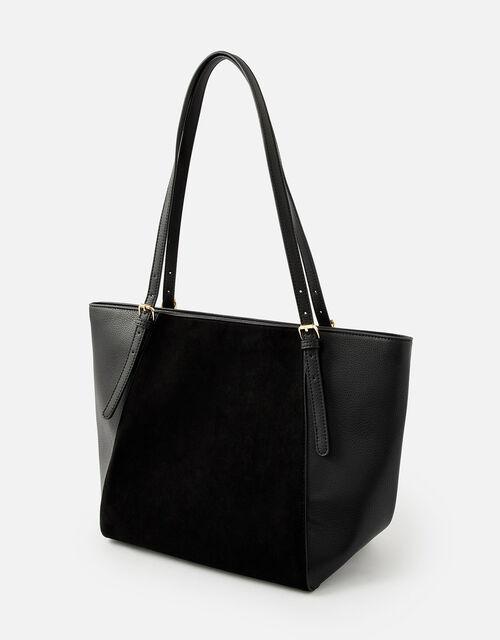 Leonie Tote Bag, Black (BLACK), large