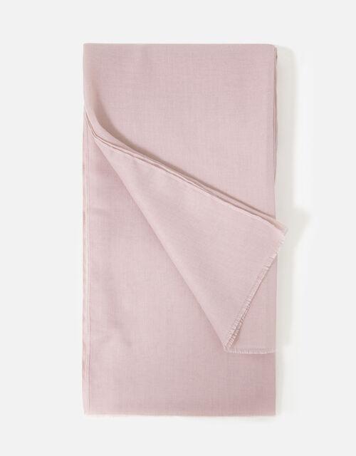 Sorrento Lightweight Scarf, Pink (PALE PINK), large