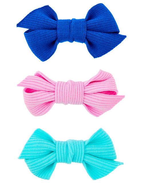 3 Soft Bow Clips, , large