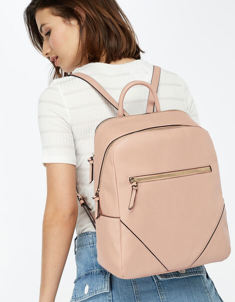 Judy Vegan Backpack Pink, Pink (PINK), large