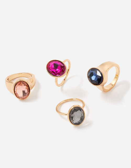 New Decadence Cocktail Ring Set, Multi (BRIGHTS-MULTI), large