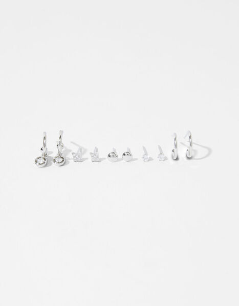 Platinum-Plated Earring Multipack, , large