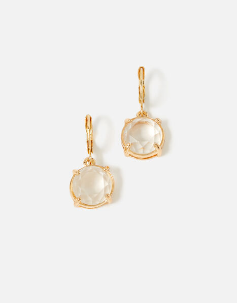Country Retreat Gem Earrings White, White (CRYSTAL), large
