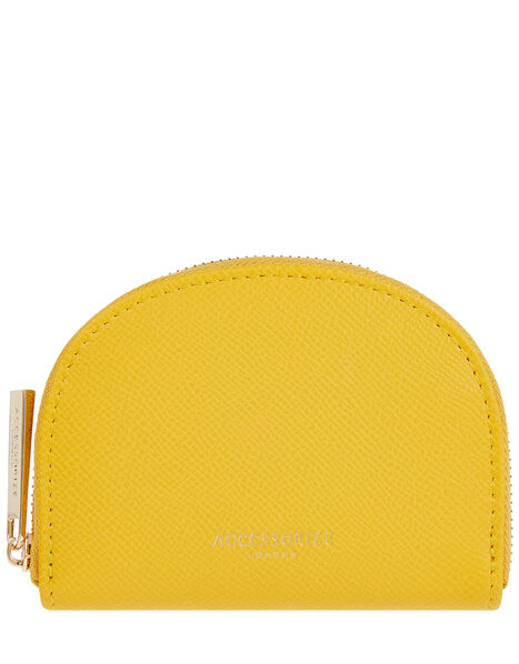 Crescent Coin Purse Yellow, Yellow (YELLOW), large