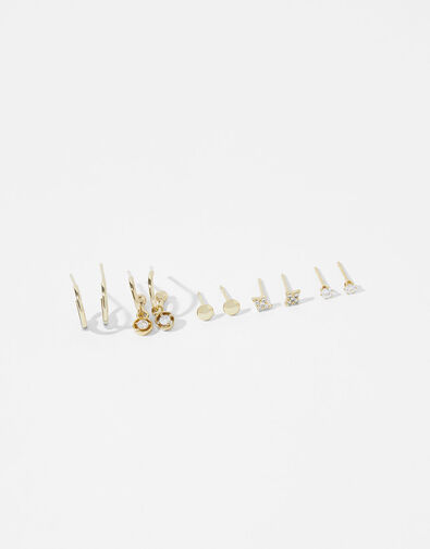 Gold-Plated Earring Multipack, , large