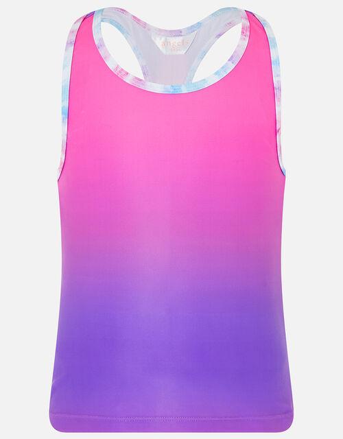 Girls Ombre Active Vest, Pink (PINK), large