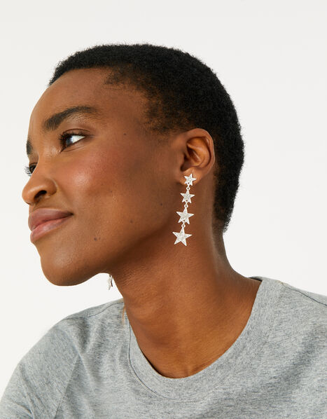 Feel Good Starry Long Earrings, , large