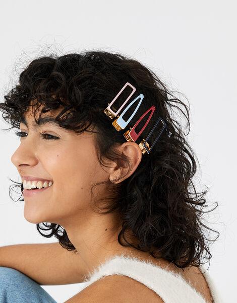 Enamel Hair Clip Set, , large