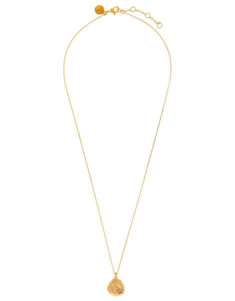 Gold-Plated Opal Zodiac Necklace - Pisces, , large