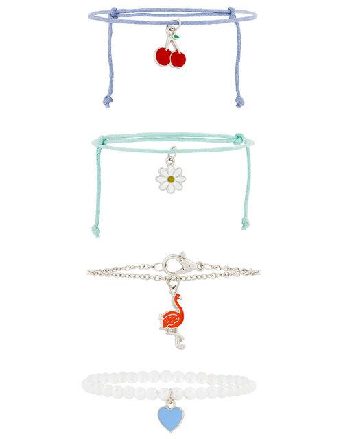 Flora Flamingo Friendship Bracelet Set, , large