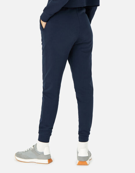Lounge Joggers in Organic Cotton  Blue, Blue (NAVY), large