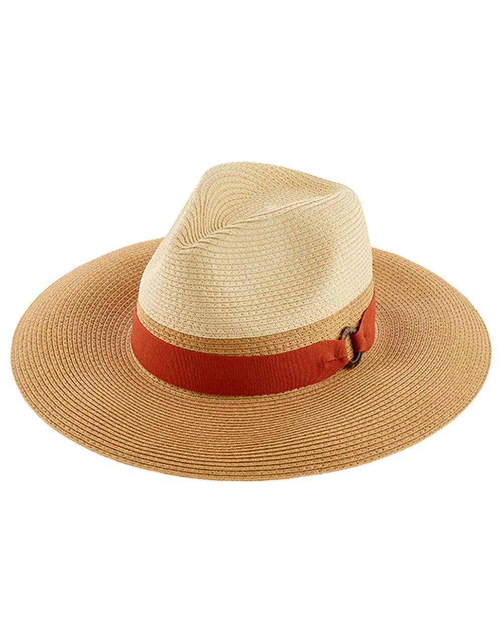 Natural Braided Fedora Hat, Natural (NATURAL), large