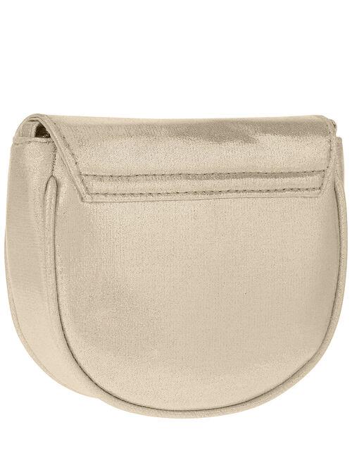 Floral Shimmer Cross-Body Bag, , large