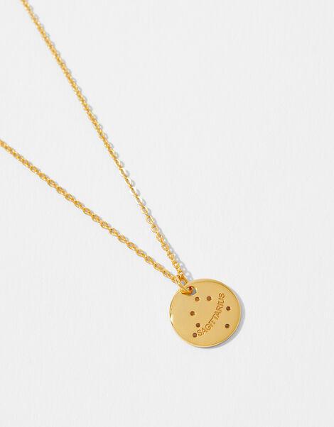 Gold Vermeil Constellation Necklace - Sagittarius, , large