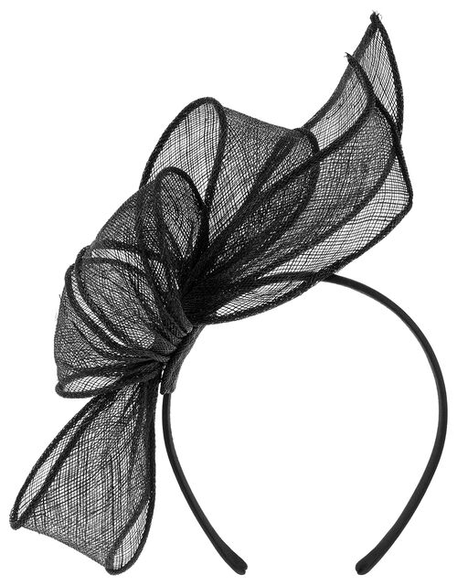 Emily Oversized Bow Fascinator, , large