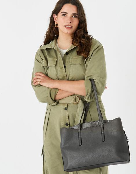 Kaia Handheld Laptop Bag  Grey, Grey (GREY), large