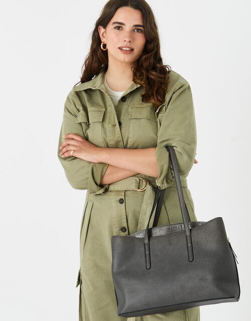 Kaia Handheld Laptop Bag , Grey (GREY), large