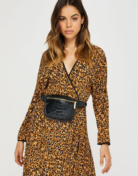 Becky Croc Belt Bag, , large