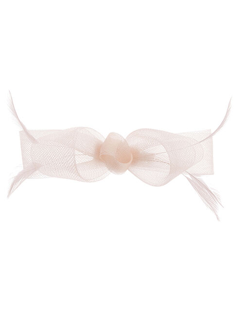 Ella Bow Hair Clip, Pink (PALE PINK), large