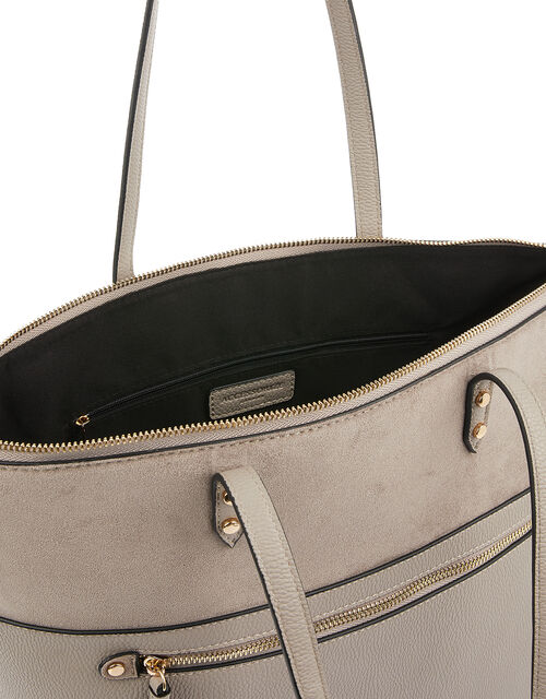 Molly Tote Bag, Grey (GREY), large