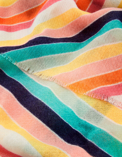 Rainbow Blanket Scarf , , large