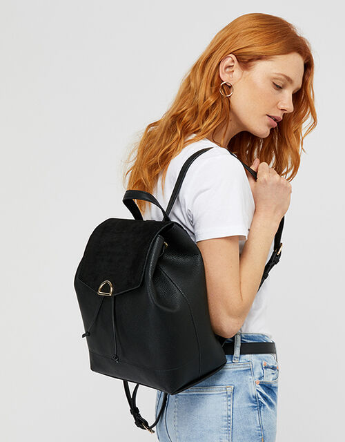 Kimmi Backpack, Black (BLACK), large