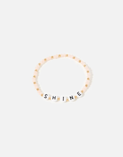 Feel Good Shine Bracelet Pink, Pink (PINK), large