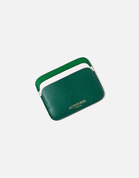Colourblock Cardholder Green, Green (GREEN), large