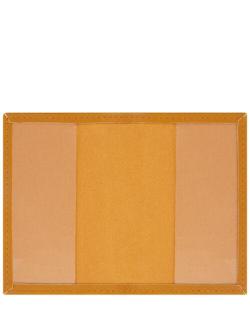 Card Holder, Yellow (OCHRE), large