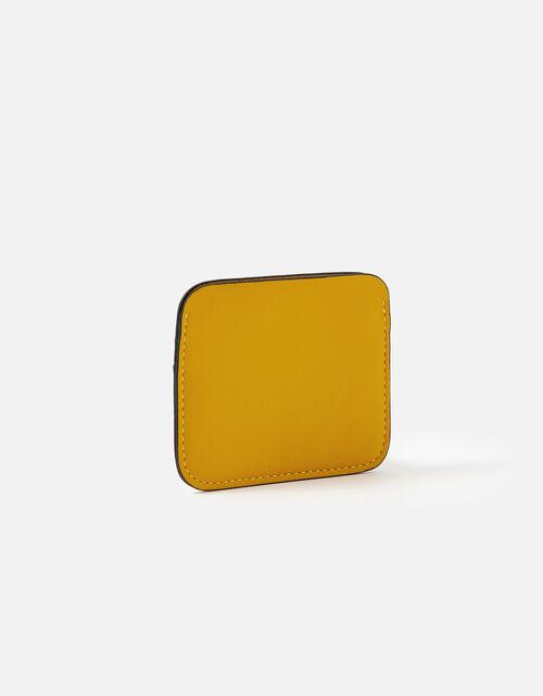Colourblock Cardholder, Yellow (OCHRE), large