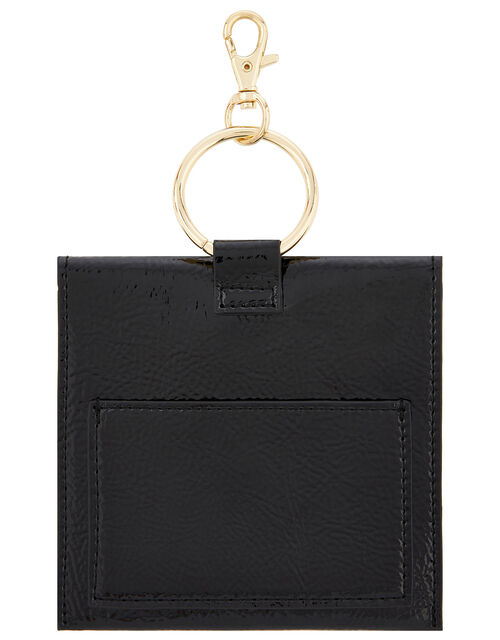 Key Chain Purse, Black (BLACK), large