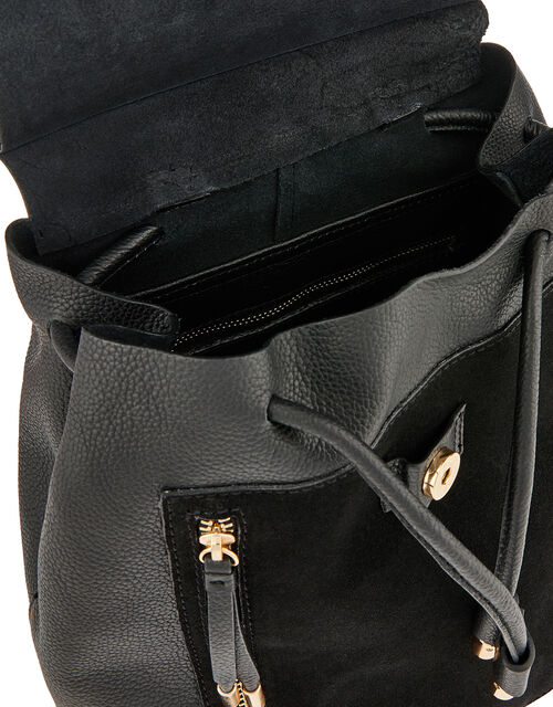 Charlie Leather Backpack, , large
