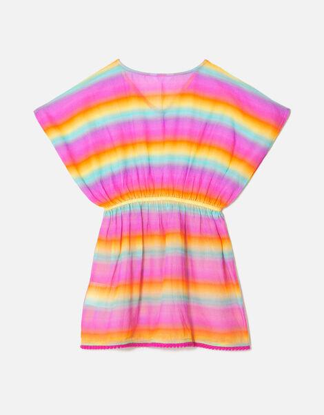Ombre Rainbow Cotton Kaften Multi, Multi (BRIGHTS-MULTI), large