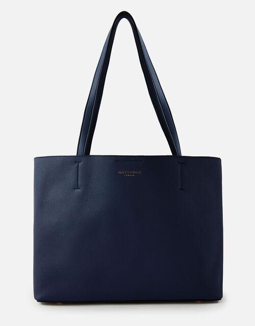 Leo Tote Bag, Blue (NAVY), large