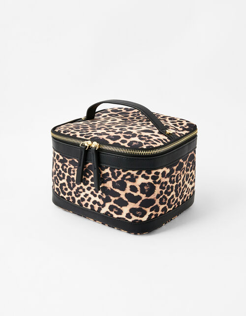 Square Lunch Box, Leopard (LEOPARD), large